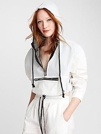 Icone Metallic zip fabric jacket