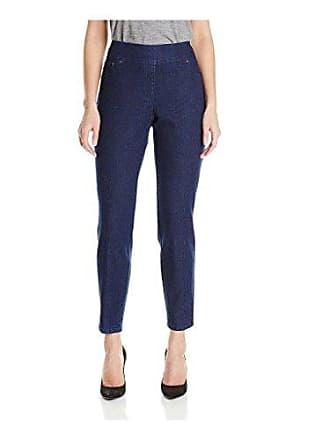 Ruby Rd. Womens Plus-Size Pull-on Extra Strech Denim Jean, Dark Indigo, 16W