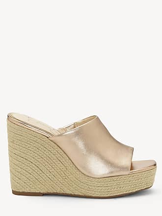 d49f0db0fb2 Jessica Simpson Womens Sirella Espadrille Wedges Pale Rose Gold Size 6.5  Suede From Sole Society