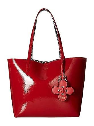 b8ffdd363ca Ralph Lauren Merrimack Reversible Tote (Red Mixed Geo) Tote Handbags