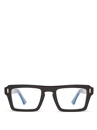 Cutler and Gross Cutler And Gross - Square Acetate Glasses - Mens - Black