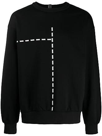 WWWM - What We Wear Matters Suéter com estampa de logo - Preto