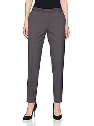 Jones New York Womens Plus Size Grace Full Length Pant, Charcoal Grey Heather, 14W