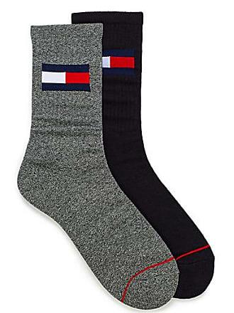3291d2315 Tommy Hilfiger Flag logo ribbed sock 2-pack