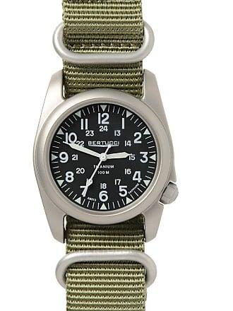Bertucci A-2T Nato Sapphire Watch Black/Nato Drab Nylon 12099