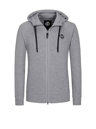 182ce6d07033 adidas Übergröße   Adidas, Sweatjacke mit Kapuze in Grau für Herren