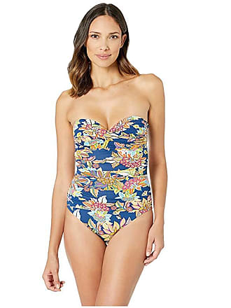 8ca6bd9037 Bleu Rod Beattie Let The Sunshine In Bandeau Mio with Molded Cup and  Underwire (Navy