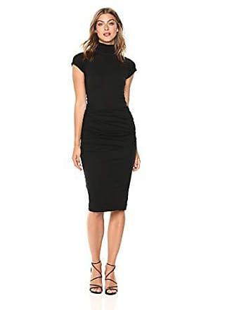 Velvet Womens Valda Gauzy Whisper Novelty Dress, Black, XS