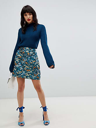 Vero Moda Floral Jacquard Skirt - Multi