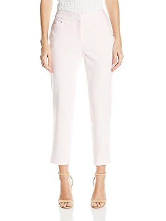 877ed4dbf Rafaella Womens Petite Size Light Weight Satin Twill Ankle Pant, Blushing  Bride, 4P