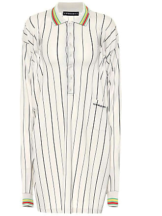 Y / Project Striped cotton shirt