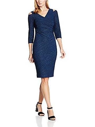 429df1dcc6df Spedizione: Costi di spedizione esclusi. Gina Bacconi Sparkle Stripe Cutout  Shoulder, Vestito Donna, colore blu (blu scuro)