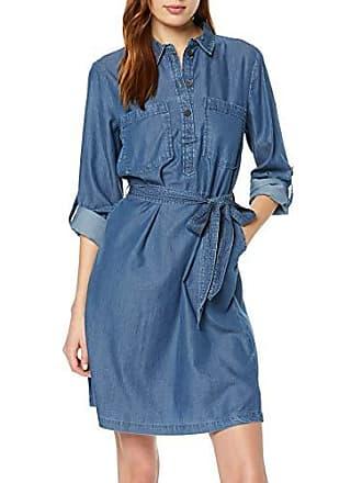 c2c875c960ac Tom Tailor 1009969 Vestito, Blu (Blue Denim 10110), (Taglia Produttore: