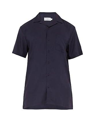 Onia Vacation Poplin Shirt - Mens - Navy