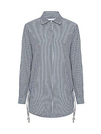 Derek Lam Side Lacing Detail Shirt Midnight