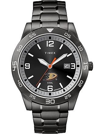 Timex Timex Watch Mens Acclaim Anaheim Ducks Black Item TwzhducMMyz