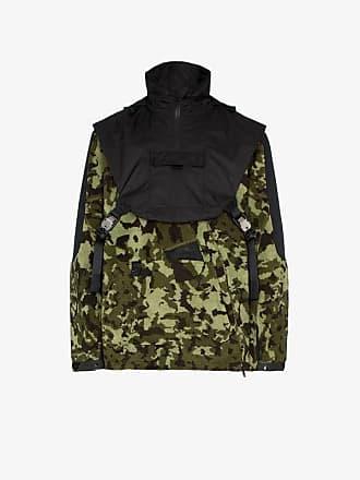 Nike X Alyx MMW two-part camouflage hooded fleece jacket a0267ca073c5