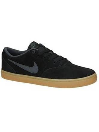a79e0095e491fc Nike SB Check Solarsoft Skate Shoes black   anthracite   gum dark