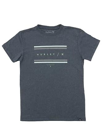 Hurley Camiseta Hurley Grades Cinza
