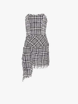 Faith Connexion bustier checked mini dress
