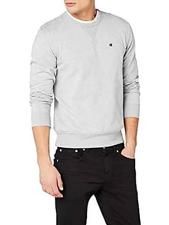 da49f3581455 Champion Crewneck Sweatshirt - C-Logo Sweat-Shirt Homme Gris (Zgryj) X