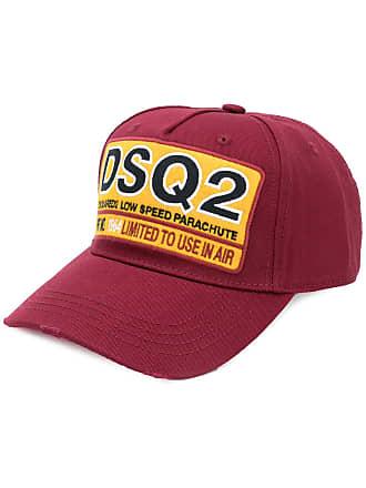 1b00861f6645d Dsquared2 Boné com patch DSQ2 - Vermelho