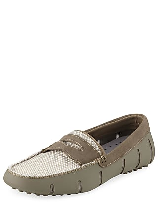59368cc3d1a Swims Mens Rubber Suede Penny Loafers