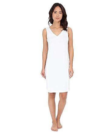 b9fde46f93 Hanro Pure Essence Tank Gown (Off-White) Womens Pajama