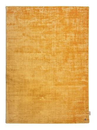 Tom Tailor Teppich Shine Uni Safrangelb Rechteckig 190x290 cm (BxT) Modern Kunstfaser
