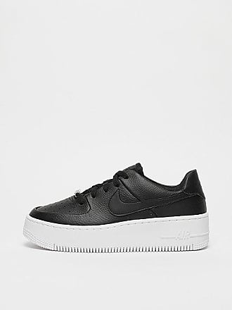online store deecd 7ba7e ... free shipping nike wmns air force 1 sage low black black white 958ef  fa100