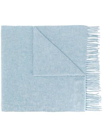Acne Studios Canada Nr New fringed scarf - Azul