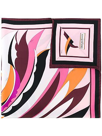 Emilio Pucci Echarpe de seda Fiore Maya - Estampado