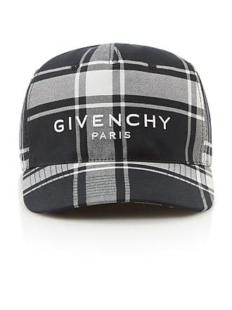 dd584e7a58564c Givenchy Logo-Embroidered Checked Shell Baseball Cap
