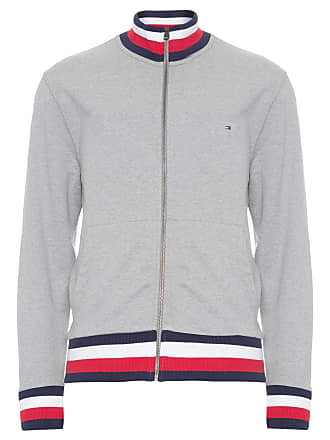 Tommy Jeans CASACO MASCULINO GLOBAL TIPPED - CINZA