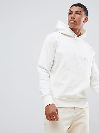 J.Lindeberg Chip Luxe hoodie in cream - Beige