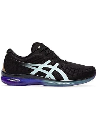 b222a5fd47c9 Asics black Quantum mesh low top sneakers