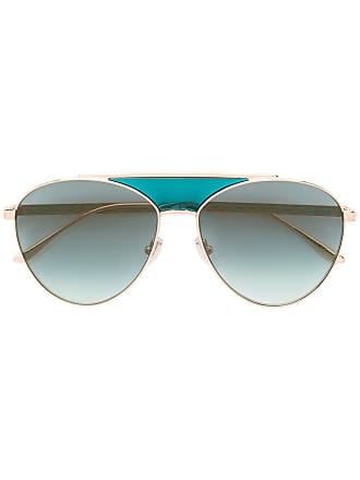 Jimmy Choo Eyewear aviator sunglasses - Rosa