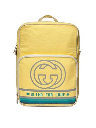 b4ae7fe65 Gucci Medium backpack with Interlocking G print - Yellow