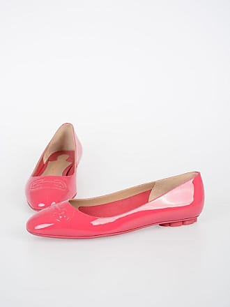 Salvatore Ferragamo Patent Leather BRONI Ballet Flat size 8,5
