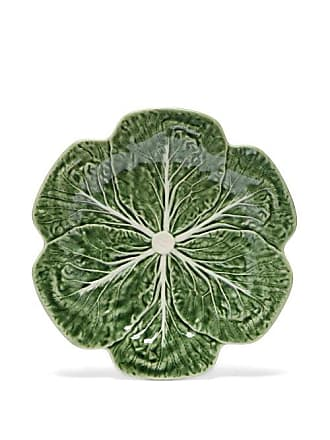 Bordallo Pinheiro Cabbage Earthenware Dinner Bowl - Green