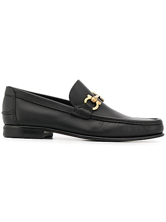 Salvatore Ferragamo Gancio loafers - Black