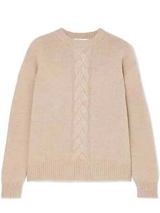 Max Mara Cable-knit Cashmere Sweater - Beige