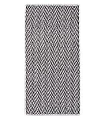 Barneys New York Fume Herringbone Cotton Hand Towel - Ivorybone