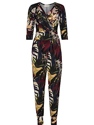 67617228a71a32 Cartoon Jumpsuit, Cartoon, Schrittlänge: 74 cm, Floral Stil, mit  Eingrifftaschen,