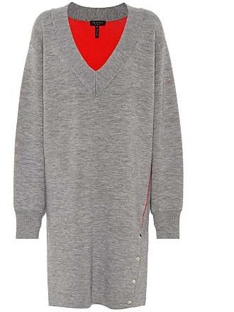 Rag & Bone Saralyn wool and cotton-blend dress