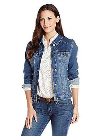 Wrangler Authentics Womens Denim Jacket, Weathered, Small
