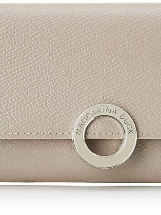Mandarina Duck Deluxe Portafoglio Womens Wallet, Silver, 2x10x19 Centimeters (W x H x L)