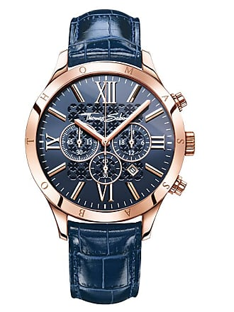 Thomas Sabo Thomas Sabo Mens Watch blue WA0211-270-209-43 MM