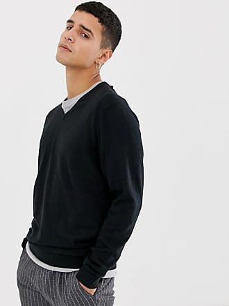 Selected v-neck sweater - Black