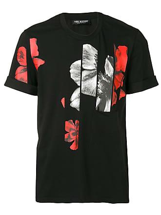 Neil Barrett Camiseta com estampa - Preto